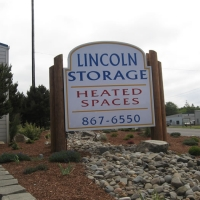 Lincoln Storage Sign